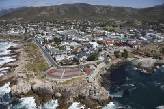 Areal view of Hermanus