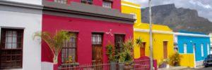Bo-Kaap area in Cape Town City Centre