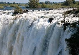 The mighty Victoria Falls
