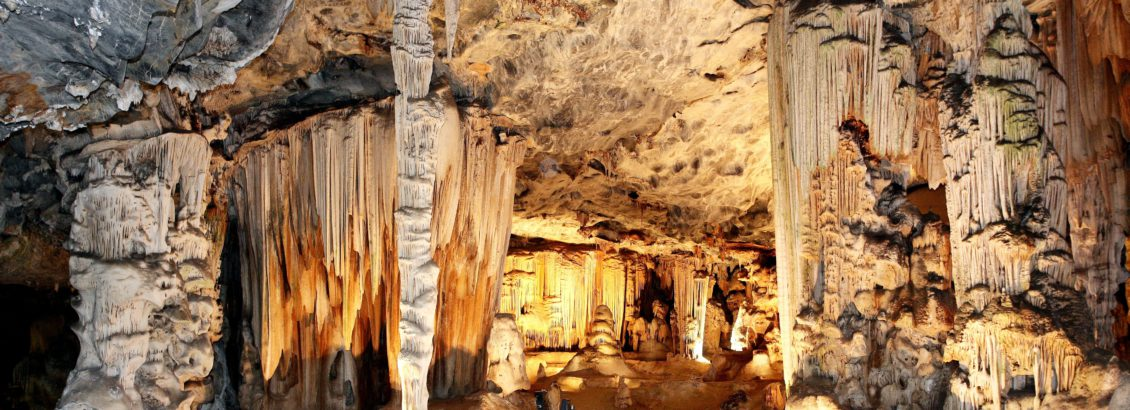 The famous Cango Caves in Oudtshoorn in the Garden Route