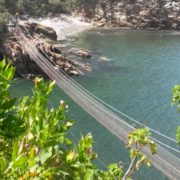 Suspension bridge at Storms River