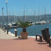 Knysna Waterfront shopping area