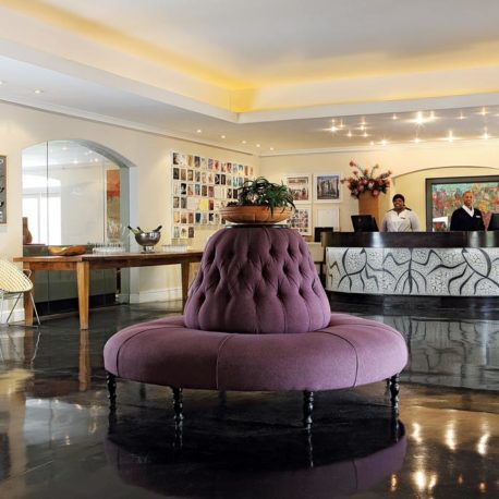 Spier Hotel reception