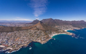 Two Oceans Helicopter trip with a birds eye view of the Mother City