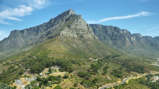Image of Table Mountain in Cape Town