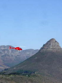 Helicopter tour - Cape Town