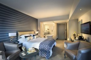 The Portswood Hotel deluxe queen room cape-town