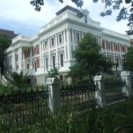 Houses of Parliament in Cape Town City