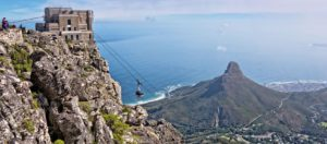 Table Mountain cable way with Seascape Tours