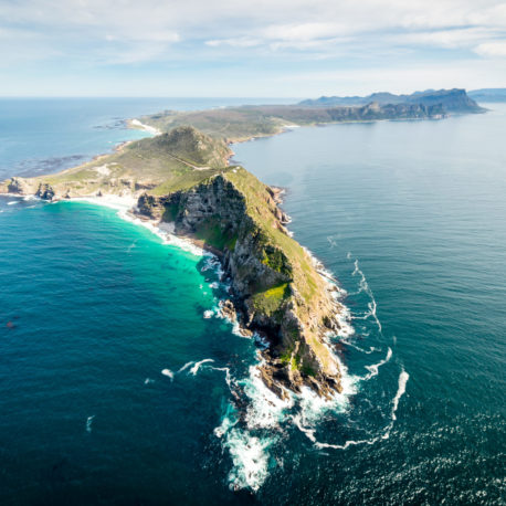 Cape Point and Peninsula helicopter flight over the two oceans