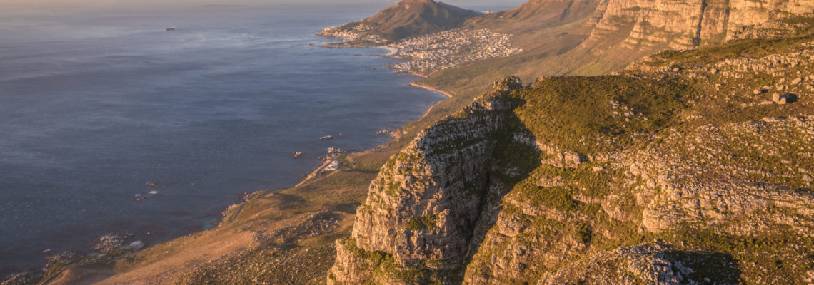 Cape Peninsula  scenic views over the two oceans helicopter ride